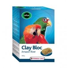 Orlux - Clay Bloc Amazon River - Bloc d'Argile Grandes Perruches et Perroquets - 550 gr
