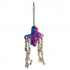 Acrylic Flower - Jouet perroquet