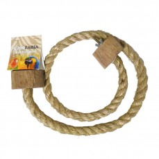 Perchoir en Corde de Sisal Souple Medium - L 1m x Ø 16 mm
