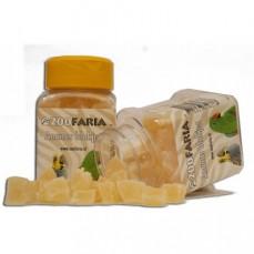 ZooFaria - Dés d'Ananas Séché - Friandise pour Oiseaux - 70 gr