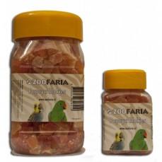 ZooFaria - Dés de Papaye Séchée - Friandise pour Oiseaux - 280 gr