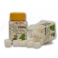 ZooFaria - Dés de Noix de Coco - Friandise pour Oiseaux - 60 gr