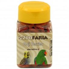 ZooFaria - Baies de Goji Séchées - Friandise pour Oiseaux - 55 gr