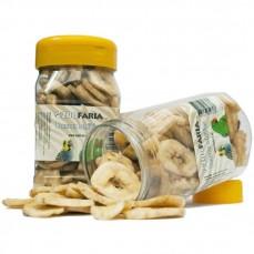 Zoofaria - Chips de Bananes - Friandise pour perroquet - 150 gr