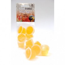 Fruit Cups - Gelée au Fruit Parfum Orange - Lot de 6 Pièces