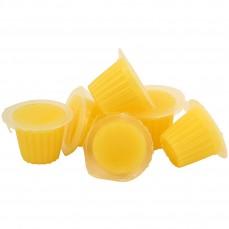Fruit Cups - Gelée au Fruit Parfum Banane - Lot de 6 Pièces