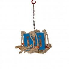 Zoo-Max - Boîte de Cuir en Folie Small - Jouet perroquet