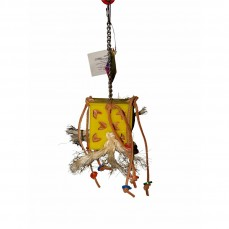 Zoo-Max - Boîte de Cuir en Folie X-Small - Jouet perroquet