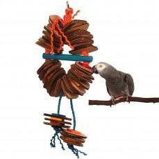 Zoo-Max - Shredding Coronet Large - Jouet perroquet