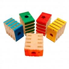 Zoo-Max - Groovy blocs - Pièce de Jouet pour perroquet - 12 Pièces