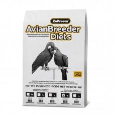 Extrudés Élevage ZuPreem Avian Breeder Natural Grandes Perruches - 18 kg