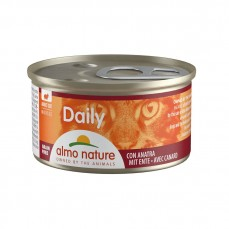 Almo Nature - Daily Mousse au Canard pour Chat - 85 gr