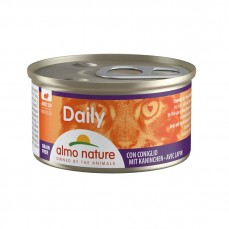 Almo Nature - Daily Mousse au Lapin pour Chat - 85 gr