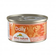 Almo Nature - Daily Mousse au saumon Chat - 85 gr