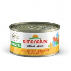 Almo Nature - Pâtée HFC Natural aux Filets de Poulet pour Chat - 70 gr