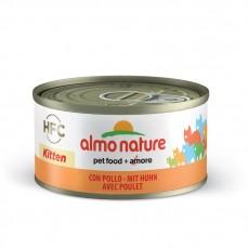 Almo Nature - Pâtée HFC Kitten au Poulet pour Chaton - 70gr