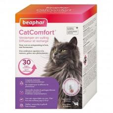 Beaphar - Diffuseur et Recharge aux Phéromones Apaisantes Cat Comfort - Chat et Chaton