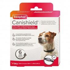 Canishield L 48 cm - Collier Anti Puces, Tiques et Moustiques pour Petits et Moyens Chiens