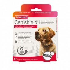 Canishield L 65 cm - Collier Anti Puces, Tiques et Moustiques pour Grand Chien (6 Mois de Protection)