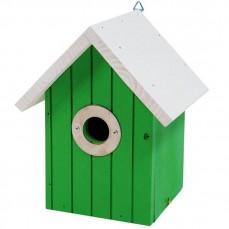 Nichoir Cabine Vert pour Oiseaux du Ciel