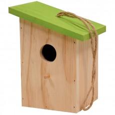 Nichoir Slide Vert pour Oiseaux du Ciel