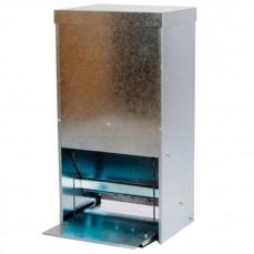 Mangeoire Distributeur Automatique Galvanisé pour Volailles - 10 kg