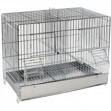 Cage Cova 42 à Double Compartiment - Bac Métal