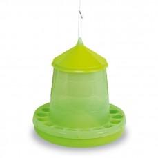 Mangeoire Silo pour Basse-Cour Vert Citron - 4 kg