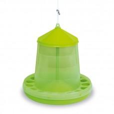Mangeoire Silo pour Basse-Cour Vert Citron - 8 kg