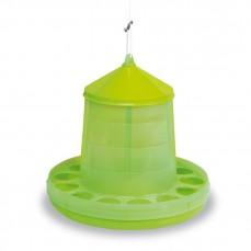 Mangeoire Silo pour Basse-Cour Vert Citron - 12 kg