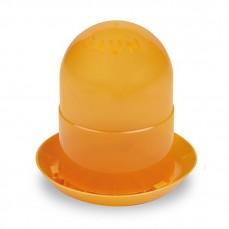 Mangeoire Silo pour Poussins - 2 kg Orange