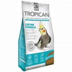 Tropican Lifetime Formula 820 gr - Granulés 2mm pour Grandes Perruches
