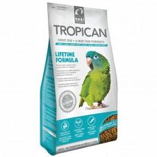 Tropican - Tropican Lifetime Formula 820 gr - Granulés 4mm  pour Perroquet