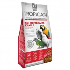 Hagen - Granulés Tropican Haute Performance 820 gr - Granulés 4 mm pour Perroquet