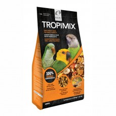 Tropimix Petits Perroquets 1,8 kg  - Mélange de Graines, Granulés et Fruits sans Déchets