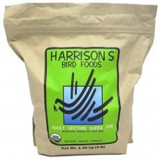 Harrison's - Adult Lifetime Superfine 1,36 kg - Granulés Compressés Bio pour Canaris et Jeunes Perruches