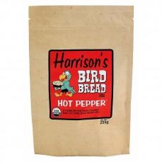 Offre Spéciale DLUO - Harrison's Bird Bread Hot Pepper 255 gr - Préparation de Pain à Cuire pour oiseaux