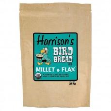 Offre Spéciale DLUO - Harrison's Bird Bread Millet & Flax 257 gr - Préparation de Pain à Cuire pour oiseaux