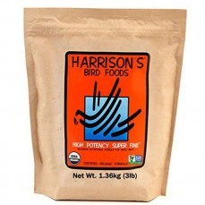 Harrison's - High Potency Superfine 1,36 kg - Granulés Compressés Bio pour Canaris et Jeunes Perruches