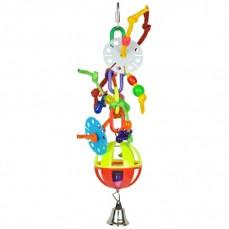 Jouet Perruche Petite Folie-Ball en Plastique
