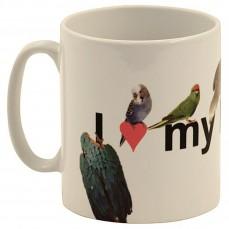 """Mug """" I Love My Parrot"""" - Perroquets"""