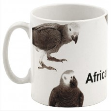 Mug Perroquet Gris du Gabon - 5 Perroquets