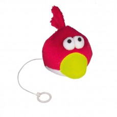 Jouet pour Chat - Angry Bird Vibrant - 6 cm