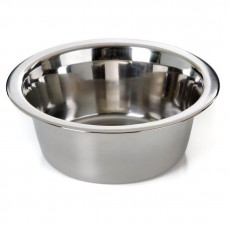 Mangeoire Inox - Gamelle pour Chien ou Chat - 16 cm - 750 ml
