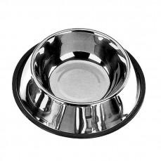 Mangeoire Inox - Gamelle Antidérapante pour Chien - 30 cm
