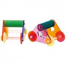 Roller Skates Large - Paire de Patins à Roulettes Pour Perroquets