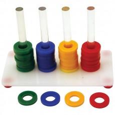 Teacher Toy Acrylique Small - Jouet Educatif Perroquet