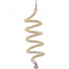 Spirale en Corde de Sisal - Large - Jouet Perroquet