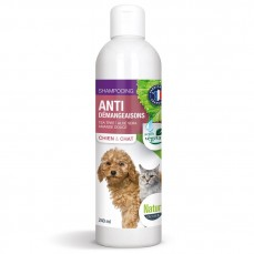 Naturlys - Shampoing Anti-Démangeaisons pour Chiens et Chats - 240 ml