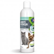 Naturlys - Shampoing Anti-Odeur Pour Chats et Chiens - 240 ml